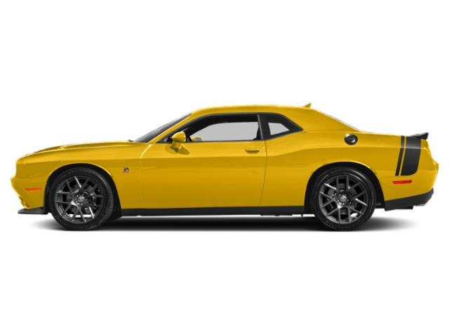 Yellow Jacket Clearcoat 2018 Dodge Challenger Pictures Challenger R/T Scat Pack RWD photos side view