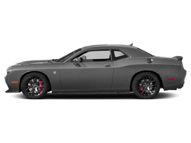 Destroyer Gray Clearcoat 2018 Dodge Challenger Pictures Challenger SRT Hellcat Widebody RWD photos side view