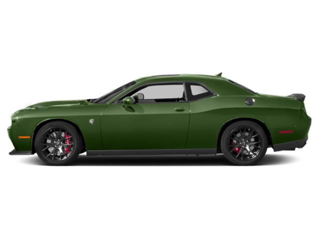 F8 Green 2018 Dodge Challenger Pictures Challenger SRT Hellcat Widebody RWD photos side view