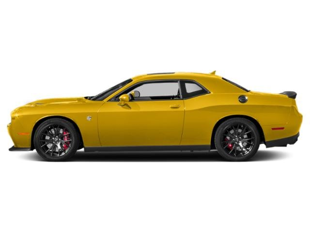 Yellow Jacket Clearcoat 2018 Dodge Challenger Pictures Challenger SRT Hellcat Widebody RWD photos side view