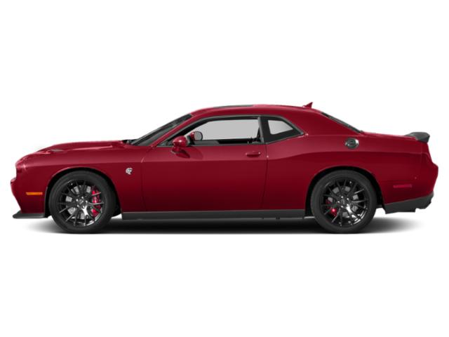 Redline Red Tricoat Pearl 2018 Dodge Challenger Pictures Challenger SXT RWD photos side view