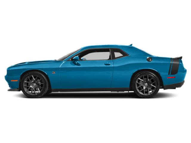 B5 Blue Pearlcoat 2018 Dodge Challenger Pictures Challenger 392 Hemi Scat Pack Shaker RWD photos side view