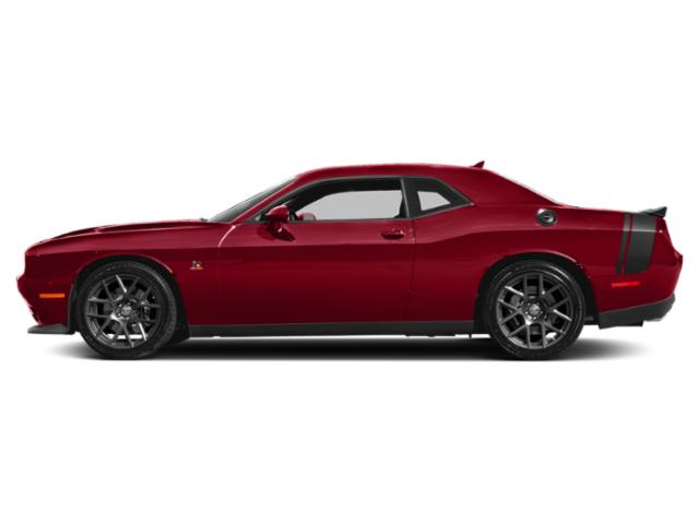 Redline Red Tricoat Pearl 2018 Dodge Challenger Pictures Challenger 392 Hemi Scat Pack Shaker RWD photos side view