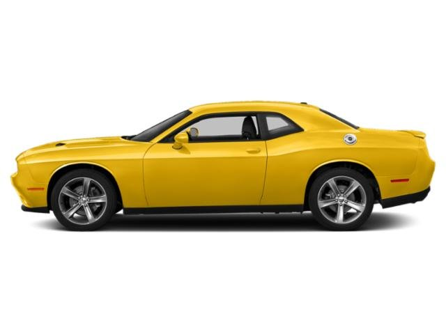 Yellow Jacket Clearcoat 2018 Dodge Challenger Pictures Challenger SXT Plus RWD photos side view