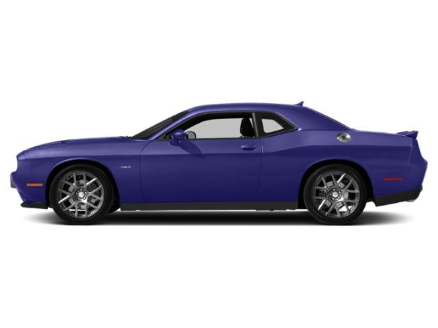 Plum Crazy Pearlcoat 2018 Dodge Challenger Pictures Challenger R/T Plus Shaker RWD photos side view