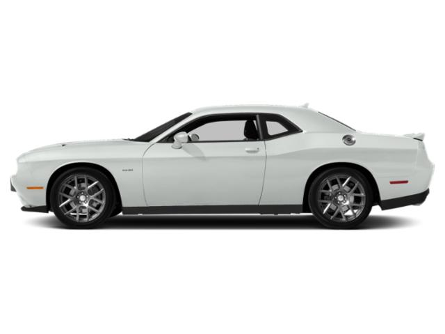 White Knuckle Clearcoat 2018 Dodge Challenger Pictures Challenger R/T Plus Shaker RWD photos side view