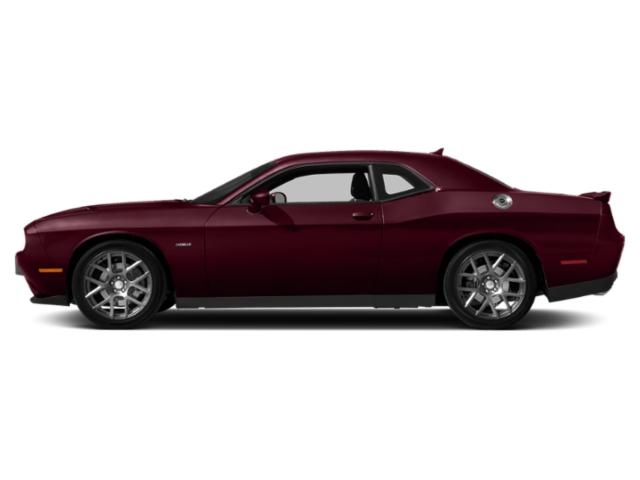 Octane Red Pearlcoat 2018 Dodge Challenger Pictures Challenger R/T Plus Shaker RWD photos side view