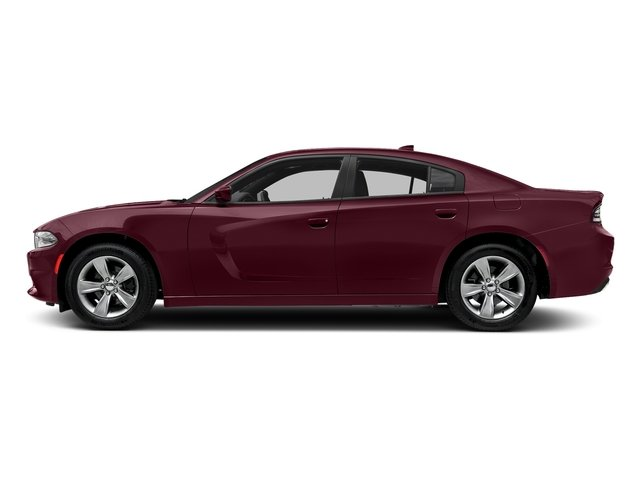Octane Red Pearlcoat 2018 Dodge Charger Pictures Charger SXT Plus RWD photos side view