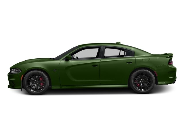 F8 Green 2018 Dodge Charger Pictures Charger SRT Hellcat RWD photos side view