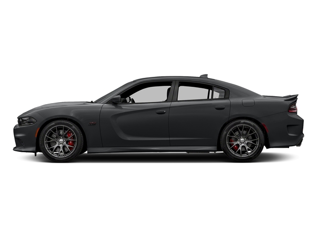 Granite Pearlcoat 2018 Dodge Charger Pictures Charger SRT 392 RWD photos side view