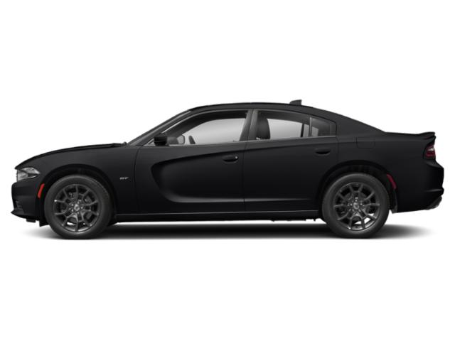 Pitch Black Clearcoat 2018 Dodge Charger Pictures Charger GT AWD photos side view