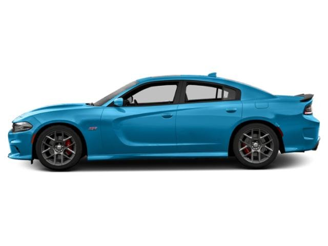 B5 Blue Pearlcoat 2018 Dodge Charger Pictures Charger Sedan 4D Daytona 392 V8 photos side view