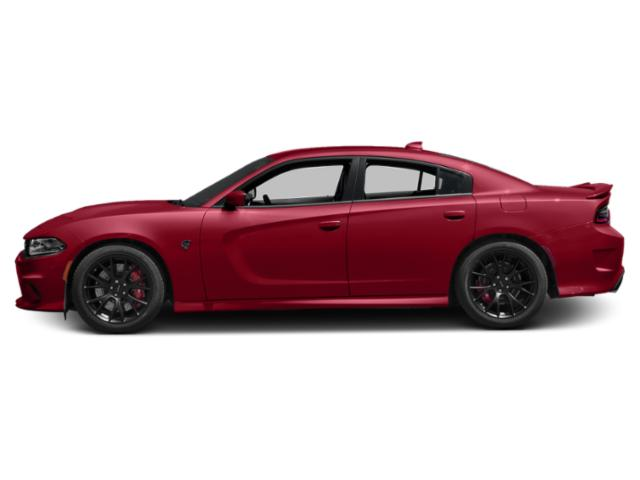 Redline Red Tricoat Pearl 2018 Dodge Charger Pictures Charger SRT Hellcat RWD photos side view