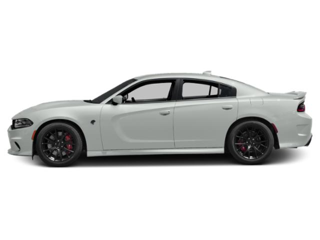 White Knuckle Clearcoat 2018 Dodge Charger Pictures Charger SRT Hellcat RWD photos side view