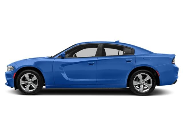 Indigo Blue 2018 Dodge Charger Pictures Charger SXT Plus RWD photos side view