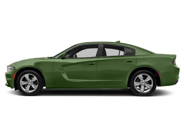 F8 Green 2018 Dodge Charger Pictures Charger Sedan 4D SXT Plus photos side view