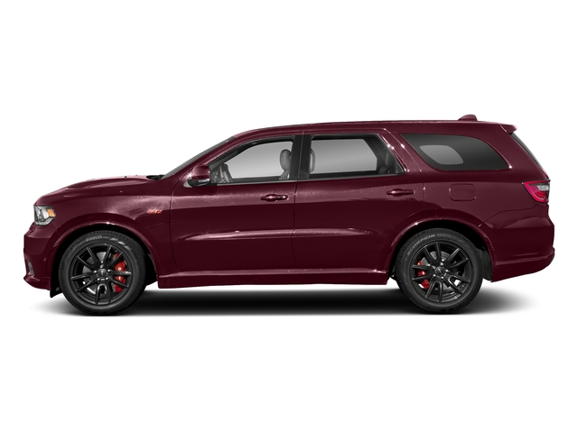 Octane Red Pearlcoat 2018 Dodge Durango Pictures Durango SRT AWD photos side view
