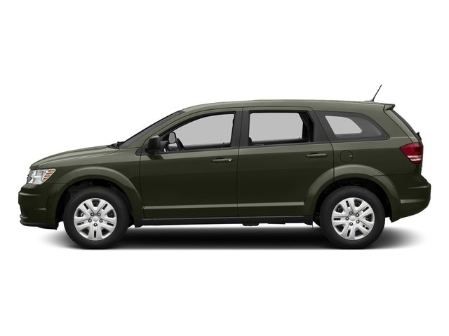 Olive Green Pearlcoat 2018 Dodge Journey Pictures Journey SE FWD photos side view