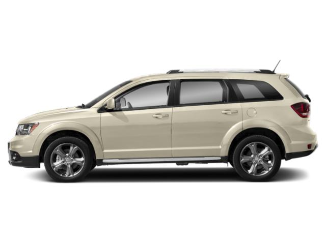 White Noise Tri-Coat 2018 Dodge Journey Pictures Journey Crossroad FWD photos side view