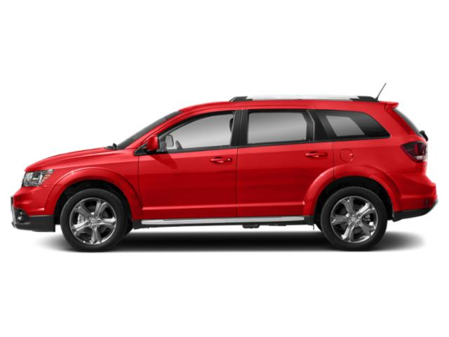 Blood Orange Clearcoat 2018 Dodge Journey Pictures Journey Crossroad FWD photos side view