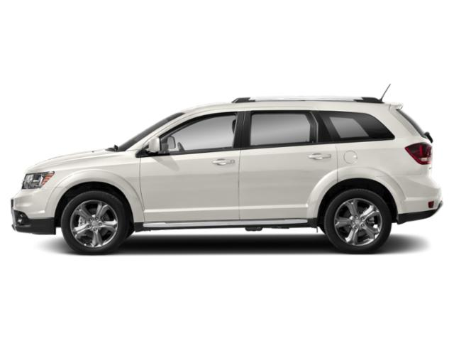 Vice White 2018 Dodge Journey Pictures Journey Crossroad FWD photos side view