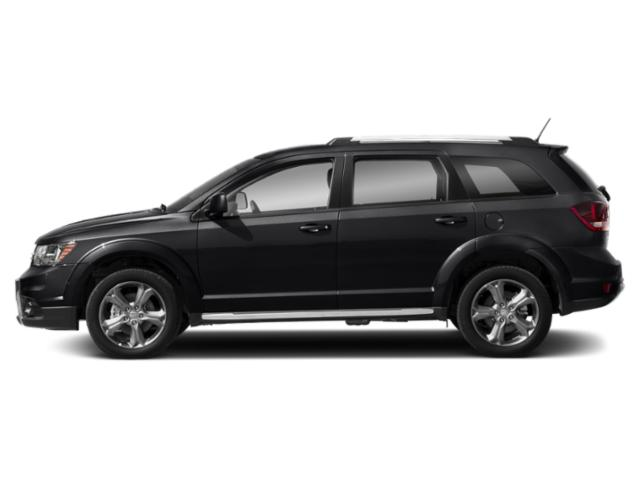 Pitch Black Clearcoat 2018 Dodge Journey Pictures Journey Crossroad FWD photos side view