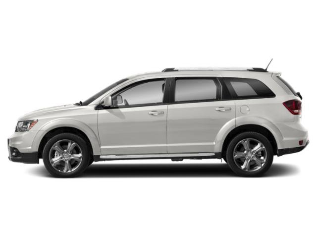 White Noise Tri-Coat 2018 Dodge Journey Pictures Journey Utility 4D Crossroad AWD V6 photos side view