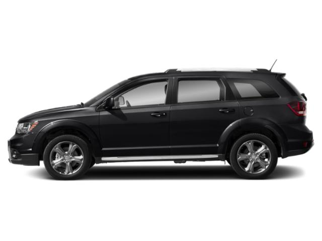 Pitch Black Clearcoat 2018 Dodge Journey Pictures Journey Utility 4D Crossroad AWD V6 photos side view