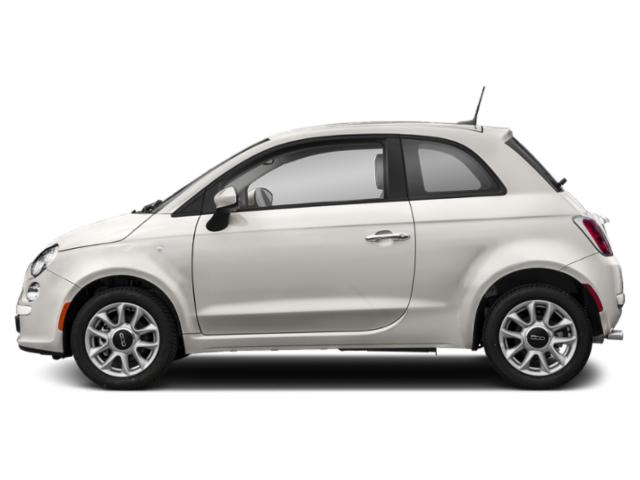 Bianco White Ice 2018 FIAT 500 Pictures 500 Pop Hatch photos side view