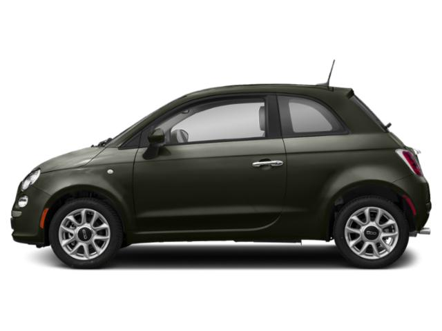 Oliva Green Pearl 2018 FIAT 500 Pictures 500 Pop Hatch photos side view