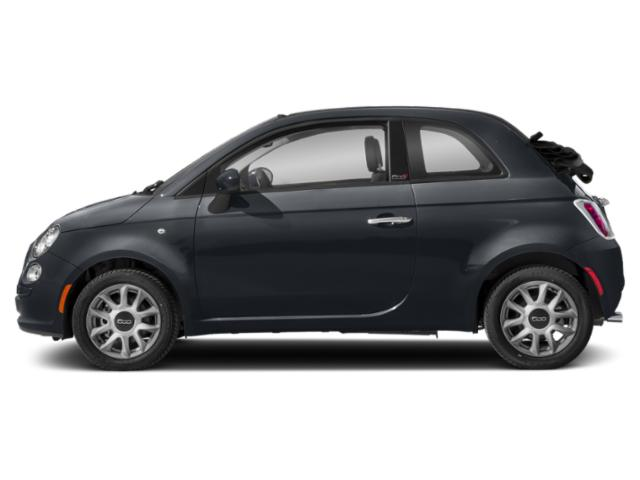 Metallo Gray 2018 FIAT 500c Pictures 500c Lounge Cabrio photos side view
