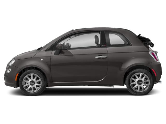 Granito Gray 2018 FIAT 500c Pictures 500c Lounge Cabrio photos side view