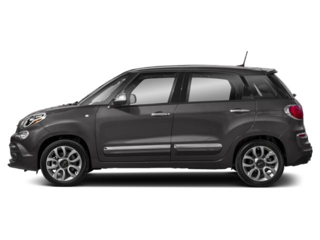 Grigio Scuro (Gray Metallic) 2018 FIAT 500L Pictures 500L Trekking Hatch photos side view