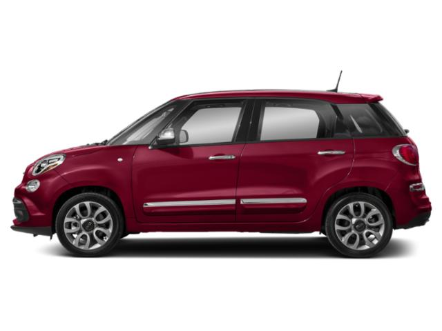 Rosso (Red) 2018 FIAT 500L Pictures 500L Lounge Hatch photos side view