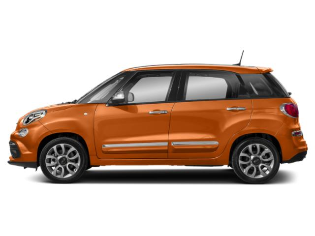 Arancia Pastello (Pastel Orange) 2018 FIAT 500L Pictures 500L Trekking Hatch photos side view