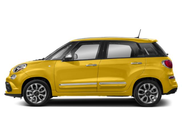 Giallo (Yellow) 2018 FIAT 500L Pictures 500L Trekking Hatch photos side view