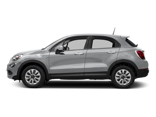 Grigio Graphite (Graphite Gray) 2018 FIAT 500X Pictures 500X Lounge AWD photos side view
