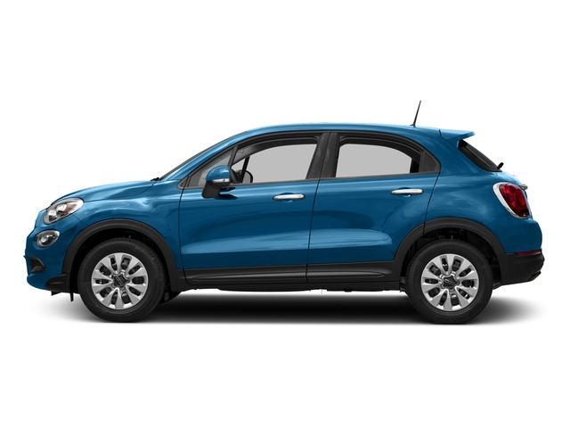 Blue Sky Metallic 2018 FIAT 500X Pictures 500X Lounge FWD photos side view