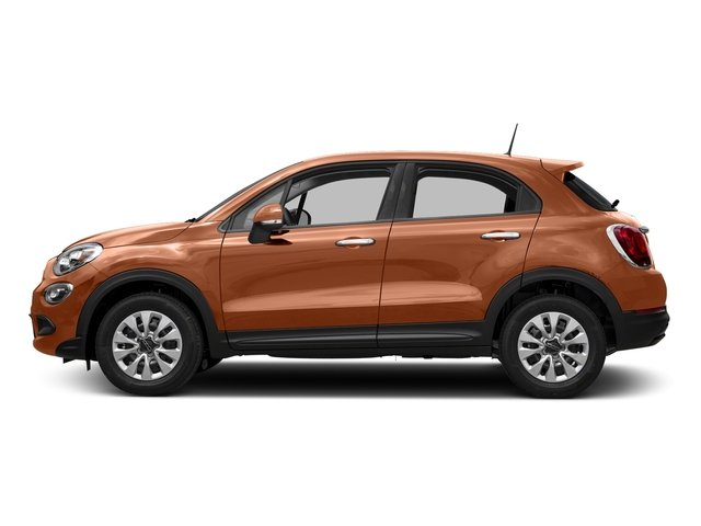 Rame Chiaro (Light Copper) 2018 FIAT 500X Pictures 500X Lounge AWD photos side view