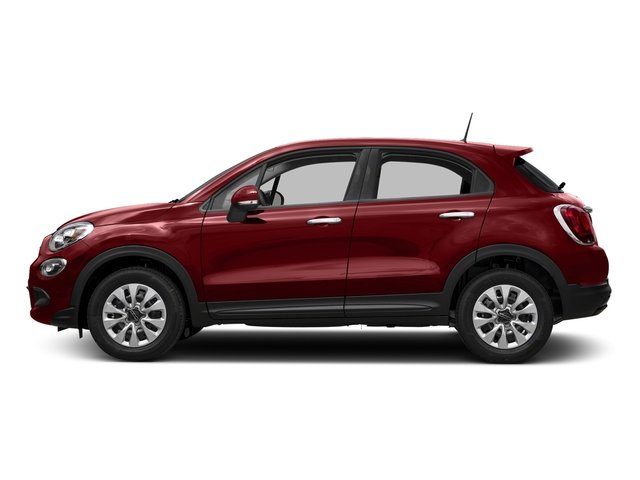 Rosso Passione (Red Hypnotique Clear Coat) 2018 FIAT 500X Pictures 500X Lounge AWD photos side view
