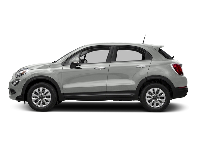 Bianco Gelato (White Clear Coat) 2018 FIAT 500X Pictures 500X Utility 4D Trekking 2WD I4 photos side view
