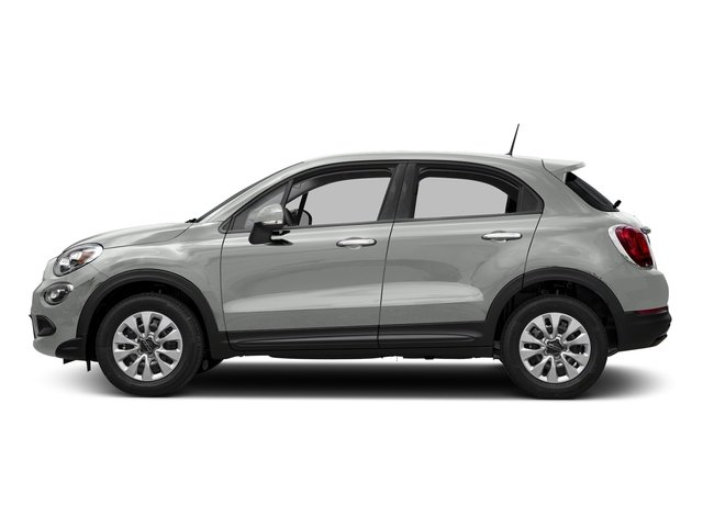 Bianco Gelato (White Clear Coat) 2018 FIAT 500X Pictures 500X Trekking FWD photos side view
