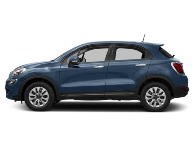 Blue Sky Metallic 2018 FIAT 500X Pictures 500X Blue Sky Edition AWD photos side view