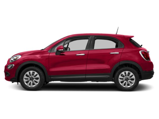 Amore Red Metallic 2018 FIAT 500X Pictures 500X Lounge FWD photos side view