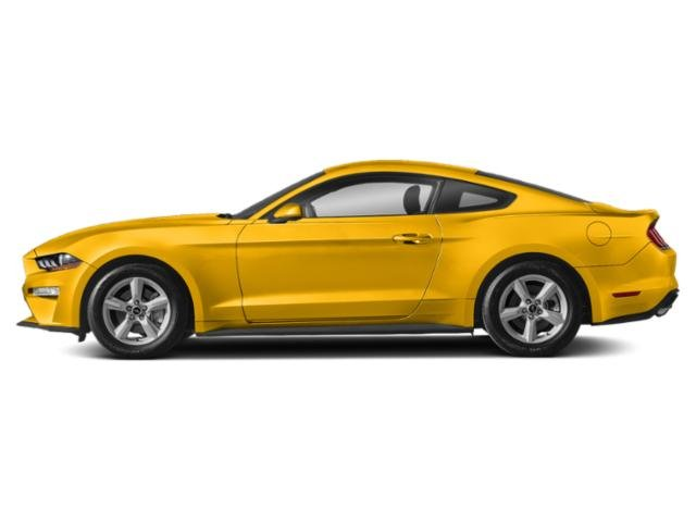 Triple Yellow Tri-Coat 2018 Ford Mustang Pictures Mustang GT Fastback photos side view
