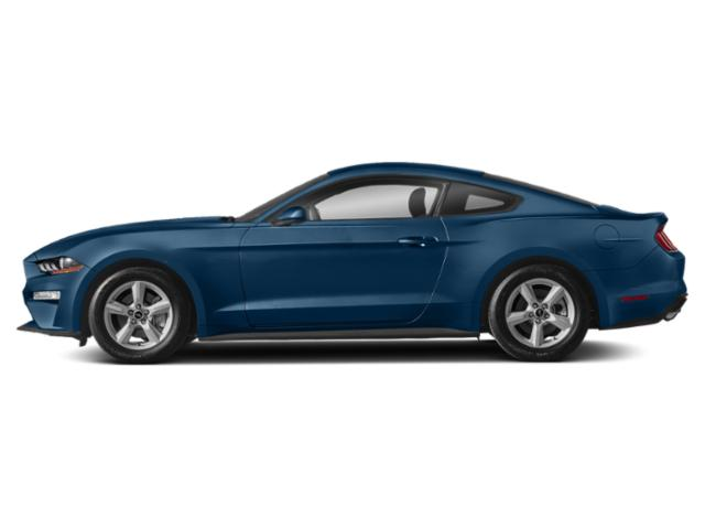Lightning Blue Metallic 2018 Ford Mustang Pictures Mustang GT Premium Fastback photos side view