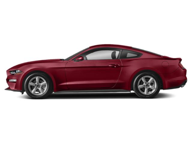 Ruby Red Metallic Tinted Clearcoat 2018 Ford Mustang Pictures Mustang GT Premium Fastback photos side view
