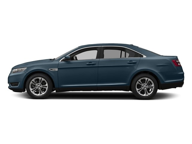 Blue Metallic 2018 Ford Taurus Pictures Taurus Sedan 4D SE V6 photos side view