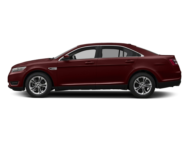 Burgundy Velvet Metallic Tinted Clearcoat 2018 Ford Taurus Pictures Taurus Sedan 4D SEL AWD V6 photos side view
