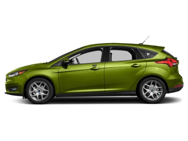Outrageous Green Metallic Tinted Clearcoat 2018 Ford Focus Pictures Focus SEL Hatch photos side view